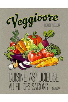Livre de cuisine VEGGIVORE Hachette