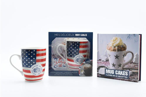 Livre de cuisine I2c MUG CAKES USA