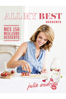 Livre de cuisine ALL MY BEST - DESSERTS Interforum