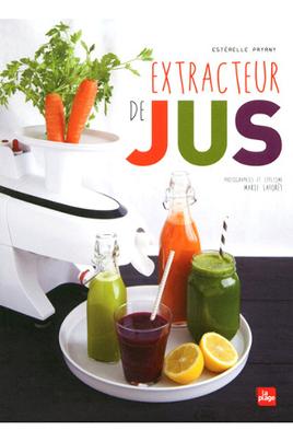 Livre de cuisine La Plage EXTRACTEUR DE JUS