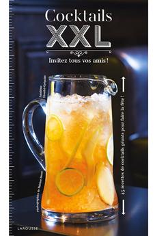 Livre de cuisine COCKTAILS XXL Larousse.
