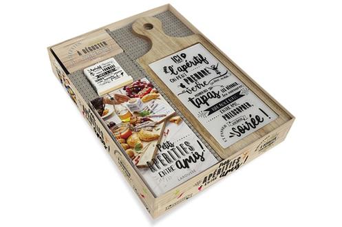 Livre de cuisine Larousse. COFFRET APERITIF ENTRE AMIS
