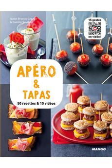 Livre de cuisine APEROS ET TAPAS Mango