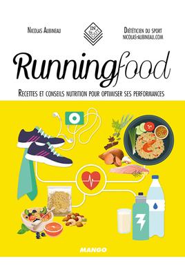 Livre de cuisine Mango RUNNING FOOD