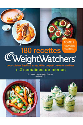 livre de cuisine marabout 180 recettes weight watchers weightwatchers 1377973. Black Bedroom Furniture Sets. Home Design Ideas