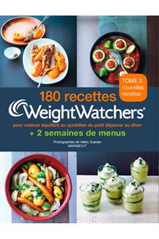 Livre de cuisine 180 RECETTES WEIGHT WATCHERS Marabout