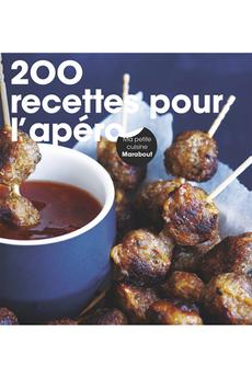 Livre de cuisine 200 RECETTES APERO Marabout