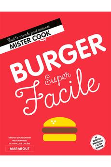 Livre de cuisine BURGER SUPER FACILE Marabout