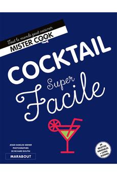 Livre de cuisine COCKTAIL SUPER FACILE Marabout