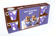 Marabout COFFRET MINI MUGCAKES MILKA