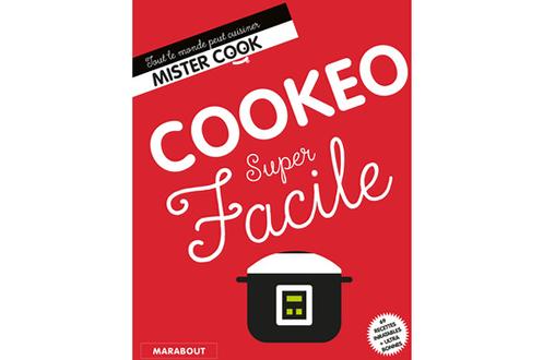 Livre de cuisine Marabout COOKEO SUPER FACILE