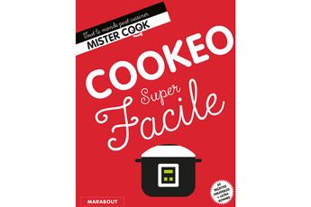 Livre de cuisine COOKEO SUPER FACILE Marabout