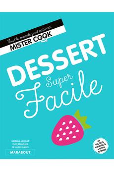Livre de cuisine DESSERTS SUPER FACILE Marabout