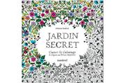 Marabout JARDIN SECRET, CARNET DE COLORIAGE ET CHASSE AU TRÉSOR ANTI STRESS