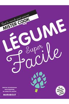 Livre de cuisine LEGUMES SUPER FACILE Marabout
