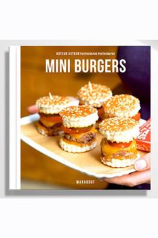 Livre de cuisine MINI-BURGERS Marabout