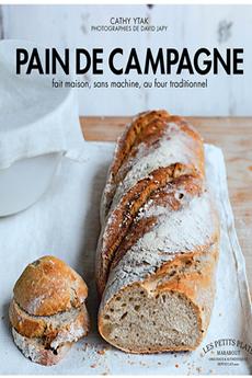 Livre de cuisine PAIN DE CAMPAGNE MAISON Marabout