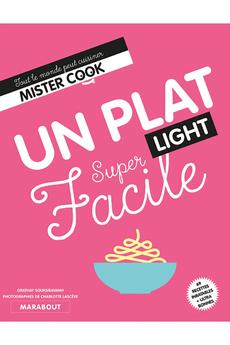 Livre de cuisine PLAT LIGHT SUPER FACILE Marabout