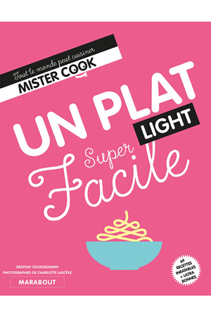 Livre De Cuisine Marabout Plat Light Super Facile Darty