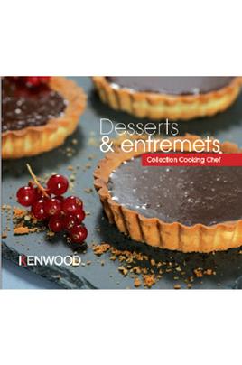 Livre de cuisine DESSERTS ET ENTREMETS Kenwood