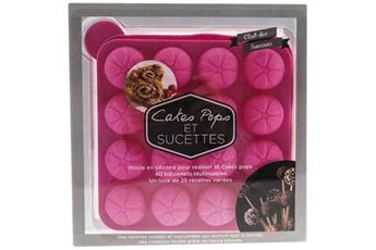 Livre de cuisine COFFRET CAKE POPS ROSE I2c