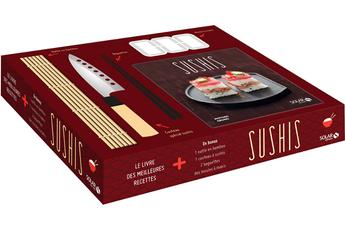 Livre de cuisine COFFRET SUSHIS Solar