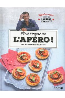 Livre de cuisine C'EST L'HEURE DE L'APERO Solar