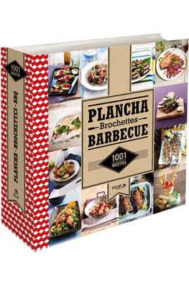 Livre de cuisine Solar 1001 RECETTE DE PLANCHA, BROCHETTES ET BARBECUE