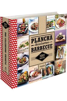 Livre de cuisine 1001 RECETTE DE PLANCHA, BROCHETTES ET BARBECUE Solar