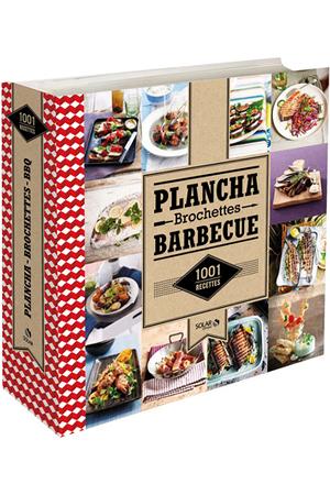 livre de cuisine solar 1001 recette de plancha brochettes et barbecue darty. Black Bedroom Furniture Sets. Home Design Ideas
