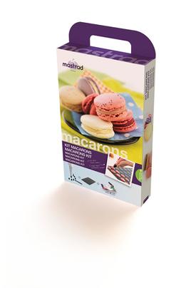 Ustensile de cuisine mastrad comac kit macarons 1396625 for Kit ustensiles cuisine