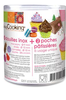 Ustensile de cuisine DOUILLES INOX Scrapcooking