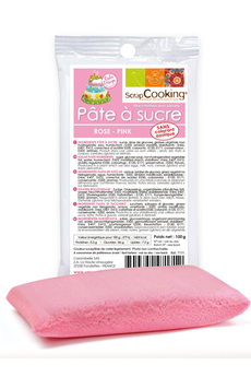 Ustensile de cuisine PATE A SUCRE ROSE Scrapcooking