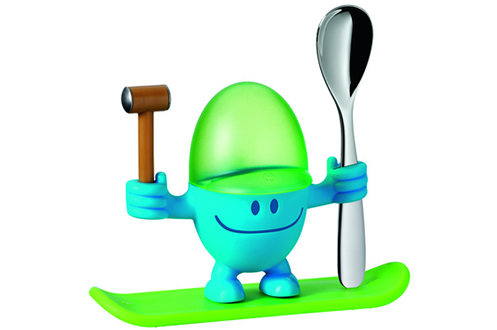 Ustensile de cuisine Wmf COQUETIER AVEC CUILLERE A OEUFS MAC EGG BLEU