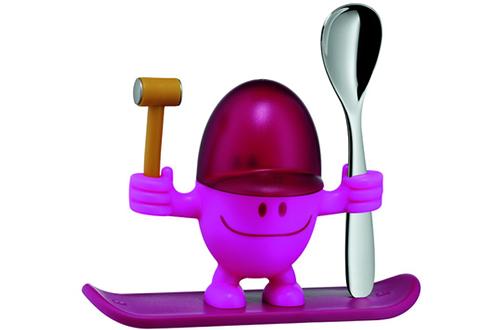 Ustensile de cuisine Wmf COQUETIER AVEC CUILLERE A OEUFS MCEGG ROSE