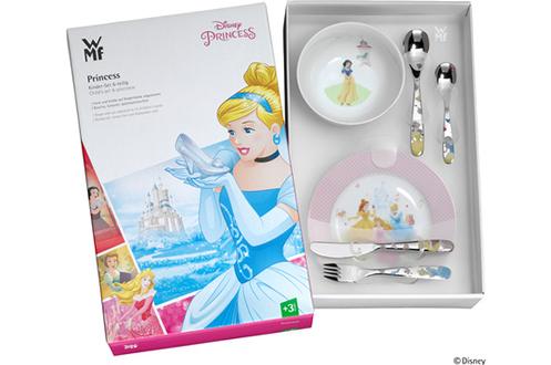 Décor Princesses de Disney 6 pièces Acier inoxydable et porcelaine