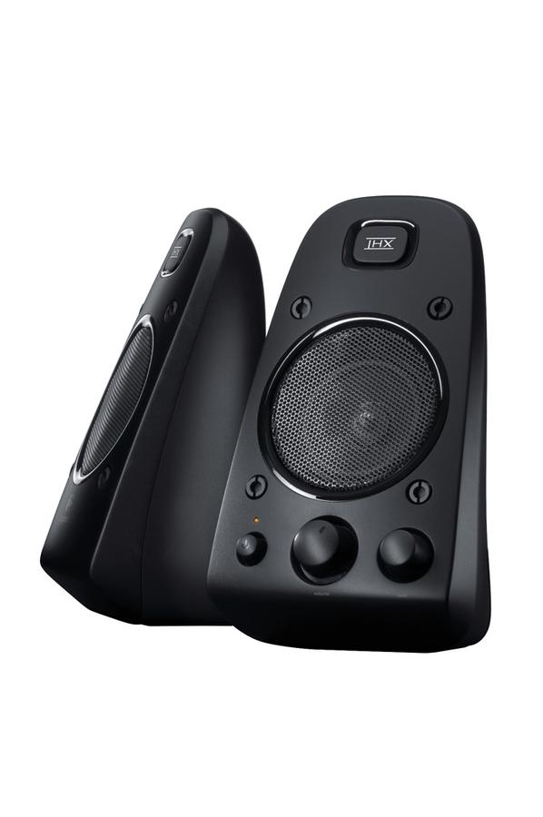 enceinte pc logitech speaker system z623 1326589 darty. Black Bedroom Furniture Sets. Home Design Ideas