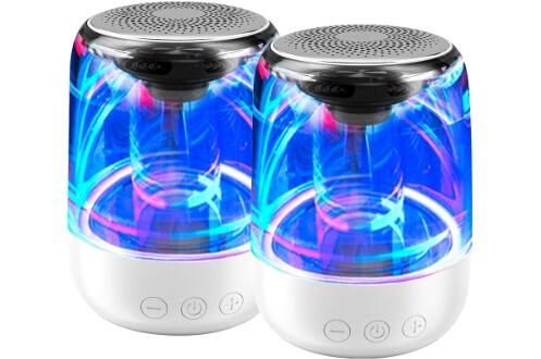 Pack d'enceinte Bluetooth et micro SD
