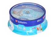 CD-R / CD-RW Verbatim 25 CD-R Spindle Pack