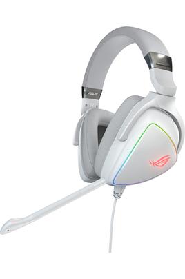 Casque Gaming filaire ROG Delta White Edition 7.1 Surround