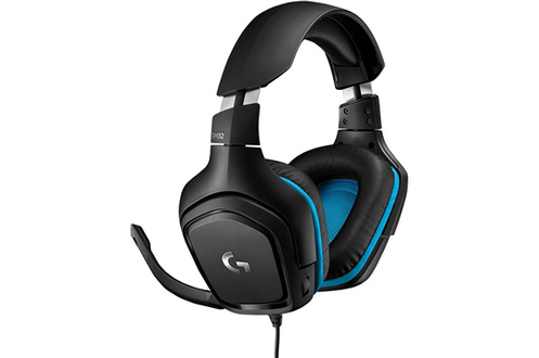 G432 7.1 Surround Sound Wired Gaming Headset - PU