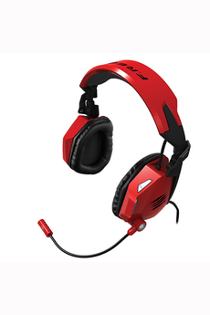 Casque micro / gamer Cyborg F.R.E.Q.5. Gloss Rouge pour PC / Mac Mad Catz