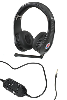 Casque micro / gamer Game MVP Carbon EA Sports Noir pour PS3, Xbox 360, Wii, PC Monster