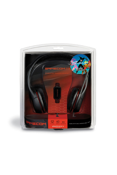 Casque micro / gamer GameCom 318 + jeu Plantronics