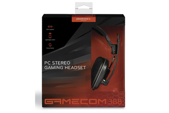 Casque micro / gamer GAMECOM 388 NOIR Plantronics