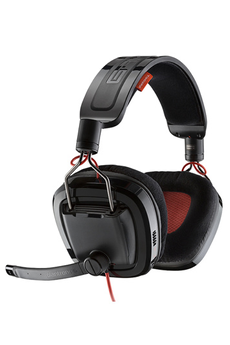 Casque micro / gamer GAMECOM 788 NOIR Plantronics