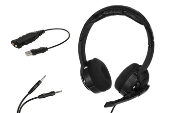 Casque micro / gamer KULO VIRTUAL pour XBOX 360 / PC Roccat