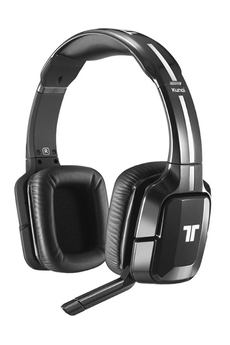 Casque micro / gamer KUNAI Wireless Noir pour Xbox 360, PS3, PS4, Wii U, PC Tritton