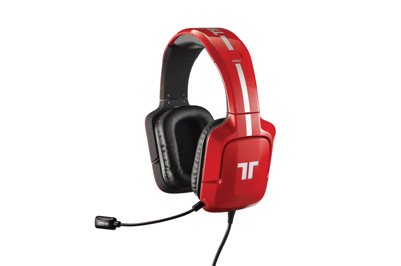 casque micro gamer tritton pro 5 1 surround pour xbox 360 ps3 pc mac rouge pro plus 5. Black Bedroom Furniture Sets. Home Design Ideas