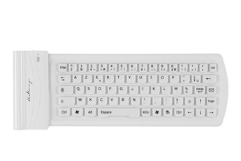 Clavier Mini-clavier souple Bluetooth Halterrego